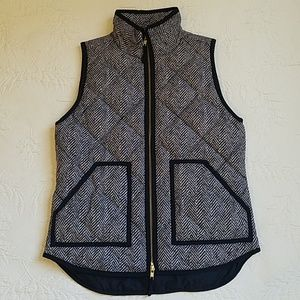J. Crew Zippered Vest